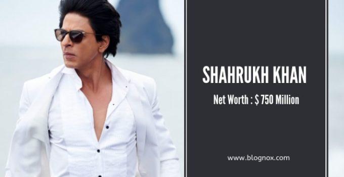 Net-Worth-of-Shahrukh-Khan